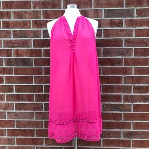 Vineyard Vines Notch Neck Cover-Up Top